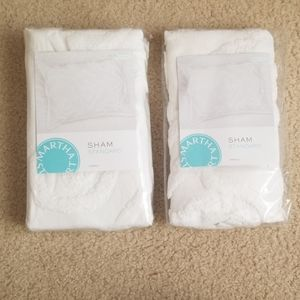 NWT Chenille Pillow Shams